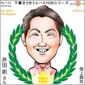 芦田 創選手似顔絵