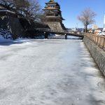 冬の高島城