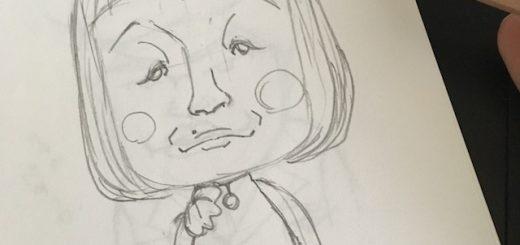 ルパンの娘より似顔絵