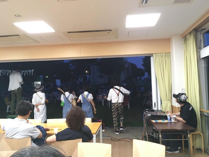 野毛山動物園の夕涼みコンサート