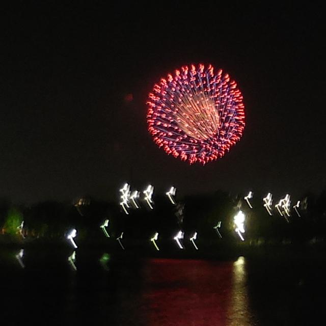 金沢まつりの花火