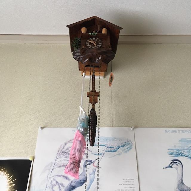 鳩時計の調整