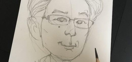 ドラマ「ドクターX」似顔絵