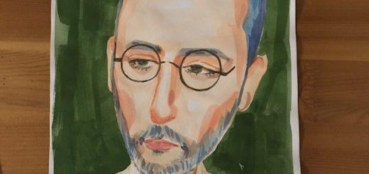 ジャンレノの似顔絵