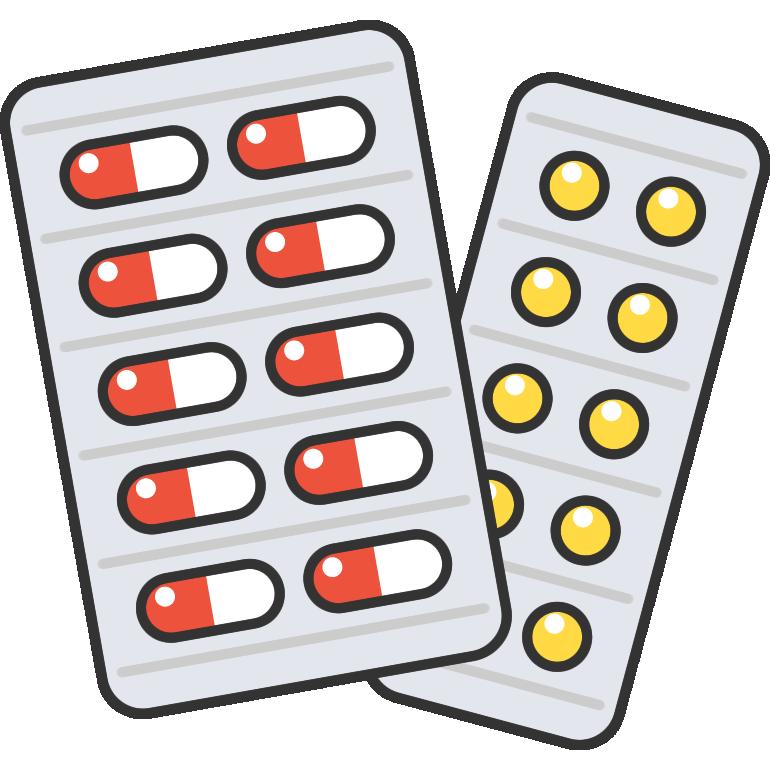 薬のイラスト