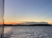 久里浜港方面を見る