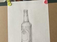 瓶スケッチ