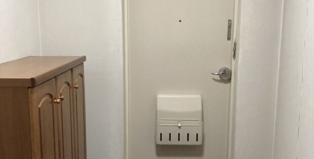 片付いた玄関